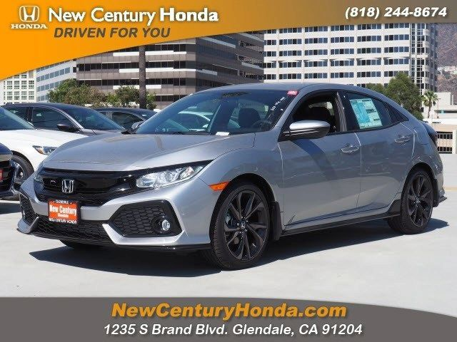 new 2018 honda civic hatchback sport for sale in glendale ca new rh newcenturyhonda com